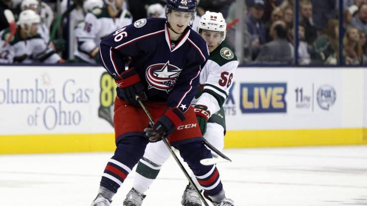 Dean Kukan kam zum Ende der letzten Saison mit den Columbus Blue Jackets zu acht Einätzen in der NHL
