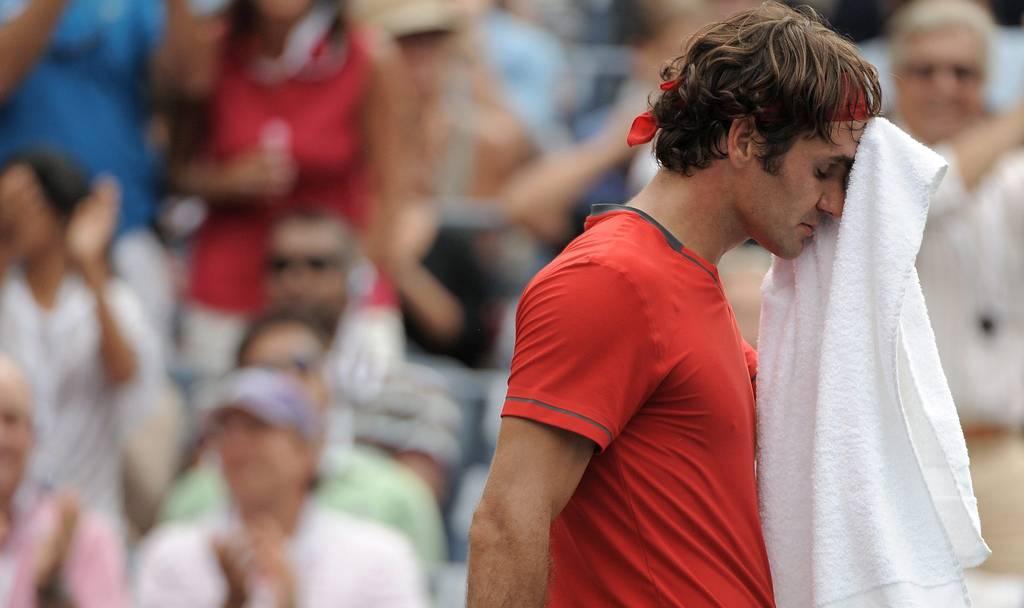 Novak Djokovics Hammerschlag bei Matchball Federer