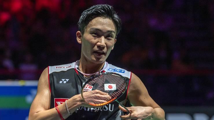 Kento Momota ist im Herrenfinal eine Klasse für sich.