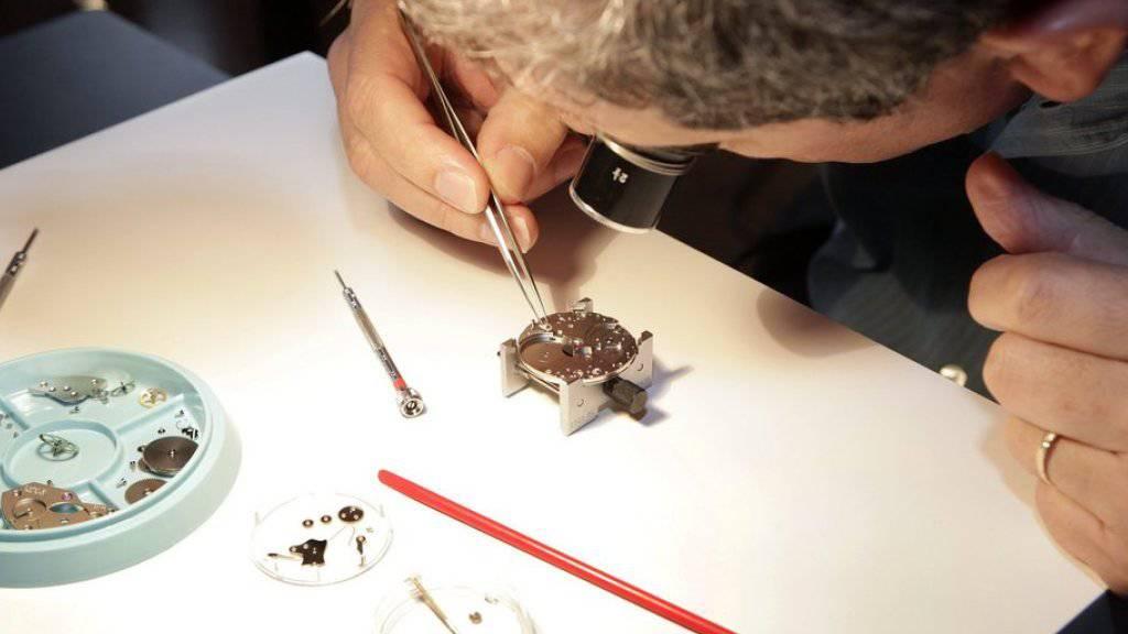 Die qualitativen Anforderungen in der Uhrenbranche nehmen stetig zu. (Symbolbild)