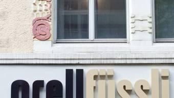 Die Banknotendruck- und Buchhandelsgruppe Orell Füssli ist 2012 in die roten Zahlen gerutscht (Archiv)