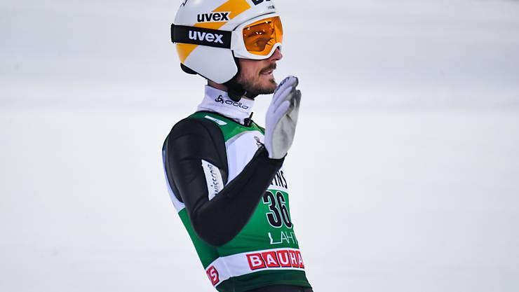 Nicht schlecht, aber auch nicht wirklich gut: Killian Peier sprang in Lahti auf den 23. Platz