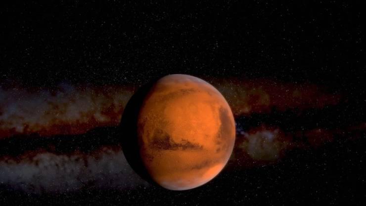 Augen auf! So gut wie übernächste Woche wird der Mars  lange nicht mehr zu sehen sein. (Bild Nasa)
