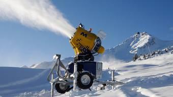 Schneemangel machte den Schweizer Skigebieten zu Beginn der Saison zu schaffen