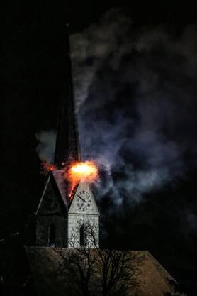 Innerhalb 24 Stunden brachen zwei Brände im Kirchturm in Herzogenbuchsee aus.