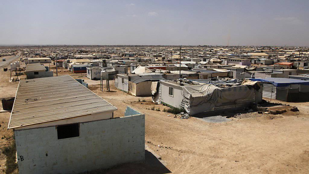 Flüchtlingslager in Jordanien: Die EU will die Migration nach Europa mit Milliarden-Zahlungen an Herkunftsländer bremsen. (Archivbild)
