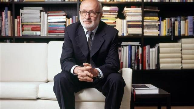 «Ich bin kein Hauruck-Präsident»: Rolf Soiron in seiner Wohnung in Basel. Foto: Gaetan Bally-Keystone