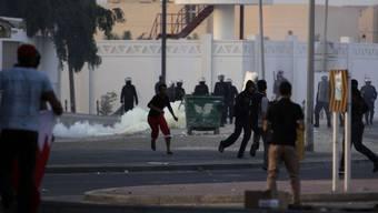 Zusammenstösse mit der Polizei in Karzakan