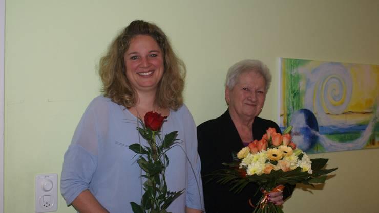 Romy Breitschmid 45-jähriges Jubiläum und Mirjam Schön 10-jähriges Jubiläum