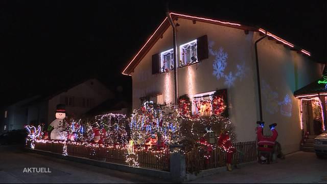 Wer hat die schönste Weihnachtsbeleuchtung?