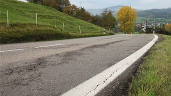 Die Strasse über den Kaistenberg soll saniert werden.