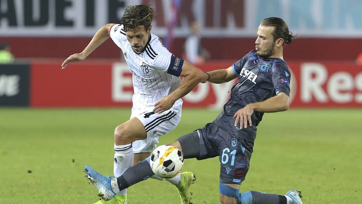 Basel erkämpft sich einen Punkt in der Türkei. 2:2 endet die Partie gegen Trabzonspor.