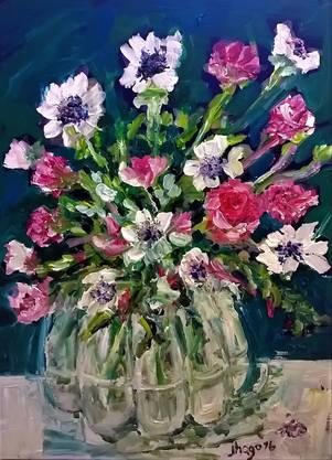 Alles Gute zum Muttertag! by jhago, in Acryl auf Leinwand, 60x80