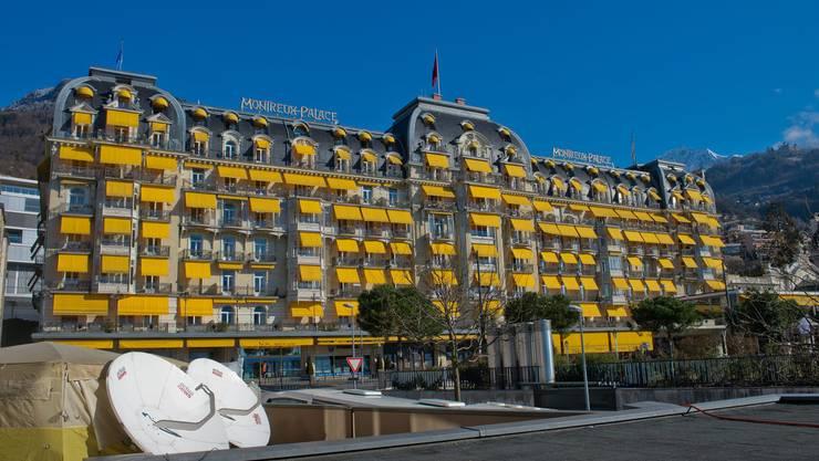 Hier findet die Konferenz statt: Montreux Palace