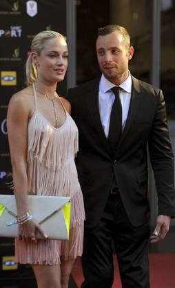 Reeva Steenkamp und Oscar Pistorius waren seit Ende 2012 ein Paar