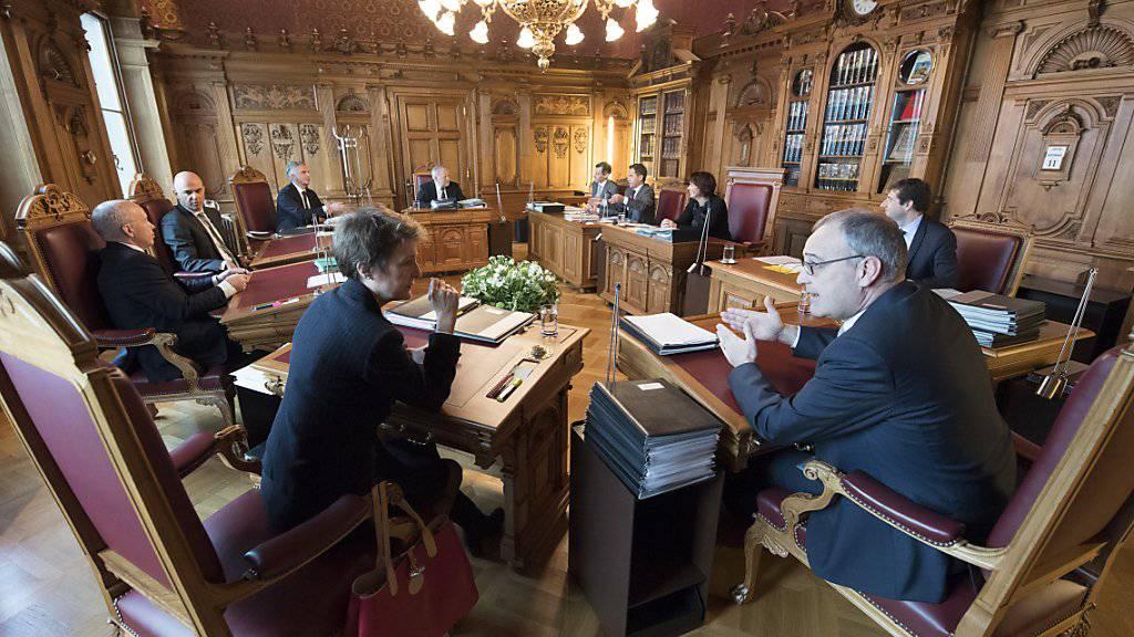 Die Bundesrätinnen und Bundesräte sowie Bundeskanzler Walter Thurnherr werden zur Bundesfeier an zahlreichen Orten der Schweiz Reden halten. Einige Auftritte sind bereits am Montag geplant. (Archivbild)