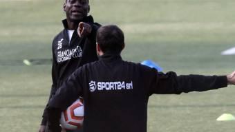 Mario Balotelli stürmt derzeit in der Serie B