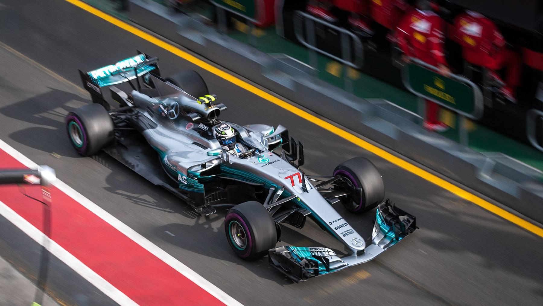 Bottas bei Grand Prix in Pole-Position