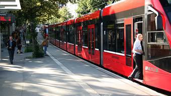 Die halbe Tramstadt Bern steht still