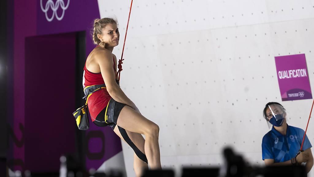 Petra Klingler: Hängt nach ihrem Olympia-Auftritt total in den Seilen