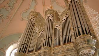 Die Orgel der Schlosskirche überzeugt klanglich und ästhetisch.