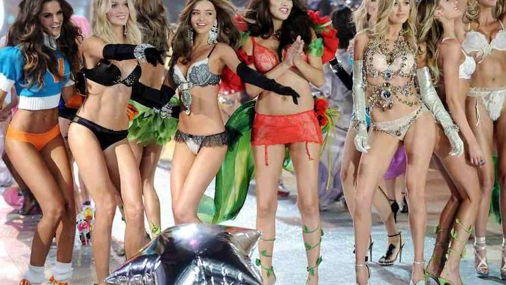 So heiss war die Modeshow von Victoria's Secret
