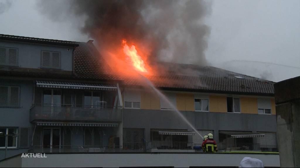Brand in Unterkulm: Zigarette löste das Feuer aus