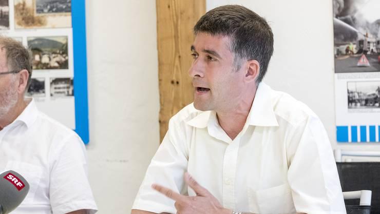 Piero Grumelli darf sich über seine Wiederwahl freuen.