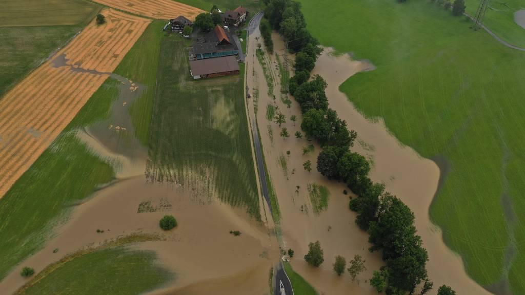 Zufahrtsstrassen zum Littauerberg bleiben vorerst gesperrt
