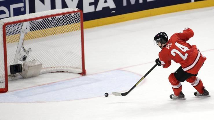 Reto Suri spielt ab Saison 2014/15 in der NHL.