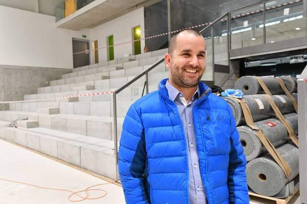 Betoncoupe-Arena Volleyballhalle Mittelland Schönenwerd Neubau