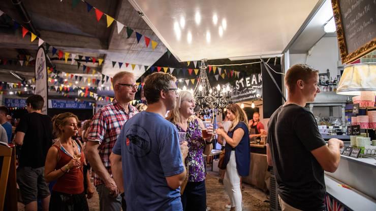 Rund 20'000 Besucher fande ans 2. Streetfood-Festival.