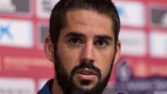 Wird dem spanischen Nationalteam und Real vorerst nicht zur Verfügung stehen: Mittelfeldspieler Isco