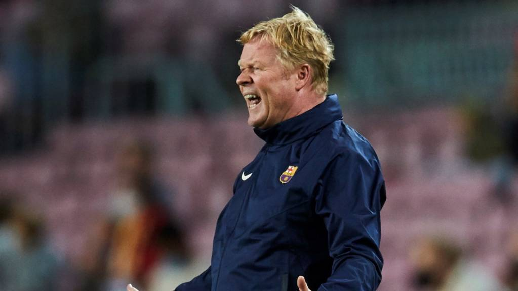 Im Moment nicht viel Spass an seiner Arbeit: Barça-Trainer Ronald Koeman.