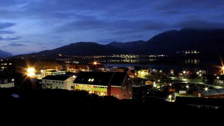 Hier in der grönländischen Hauptstadt Nuuk wollen die Amerikaner ihre Zelte aufschlagen.