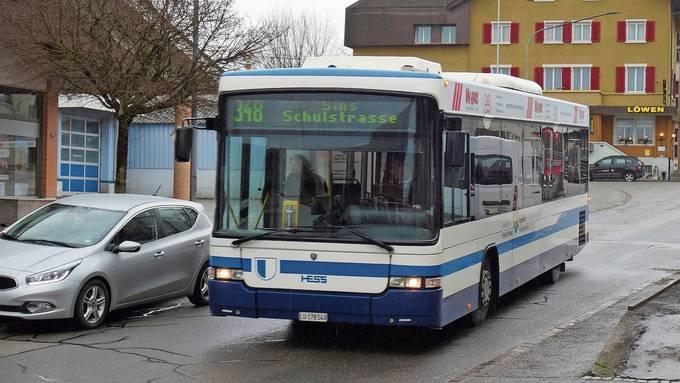 Die grenzüberschreitende Buslinie von Sins über Dietwil nach Gisikon-Root LU steht beim Bundesamt für Verkehr auf dem Prüfstand.
