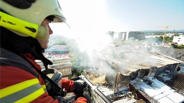 Feuerwehr und Sanität kommen als erste zum Zug beim Projekt «Optio».Martin Töngi