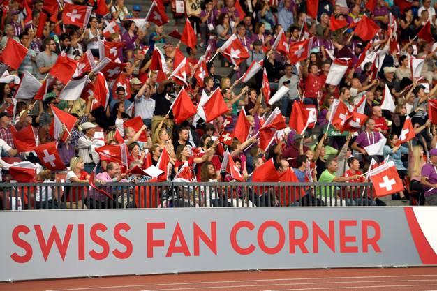 Die Schweizer Fan-Ecke