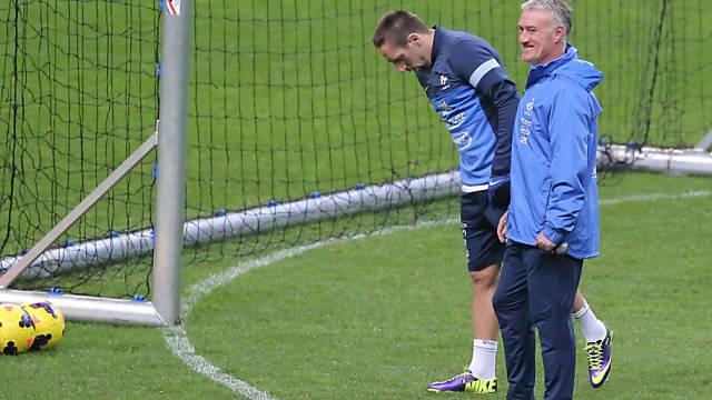 Deschamps und Ribéry mit Frankreich gefordert