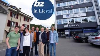 Richtig weg waren wir nie: Die Baselland-Redaktion der bz freut sich bereits auf die Rückkehr in das vertraute Gebäude an der Rheinstrasse 3.
