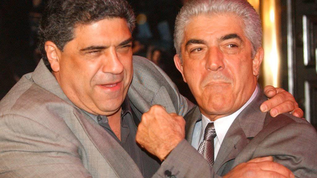 Der Schauspieler Frank Vincent (rechts) ist während einer Operation gestorben. (Archivbild mit Vincent Pastore)