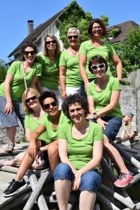 Haben ein tolles Fest organisiert: Vorstand Frauenverein