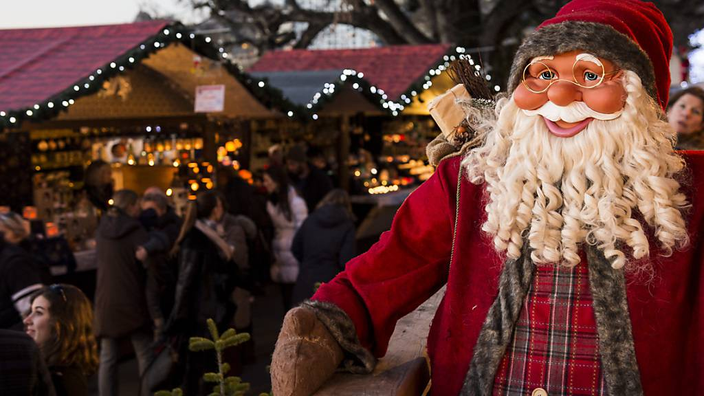 Kleinerer Weihnachtsmarkt in Montreux VD wegen Corona-Pandemie
