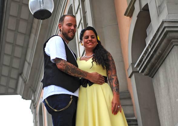 Sandra (33) und Roman Wild (33) aus Safenwil waren das erste von zehn Paaren, das sich den 8.8.2018 als Trauungsdatum auf dem Zofinger Standesamt sicherte. «Die Acht ist für uns eine Glückszahl», sagt das frischvermählte Paar. Die kirchliche Hochzeit steht am 18.8.18 in Luzern an.