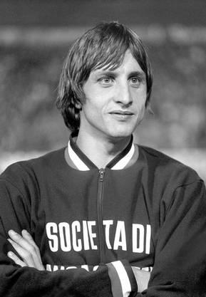 Die Fussball-Legende Johan Cruyff.