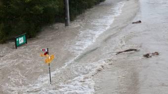 Bilder zeigen das Ausmass des Hochwassers im Kanton Uri