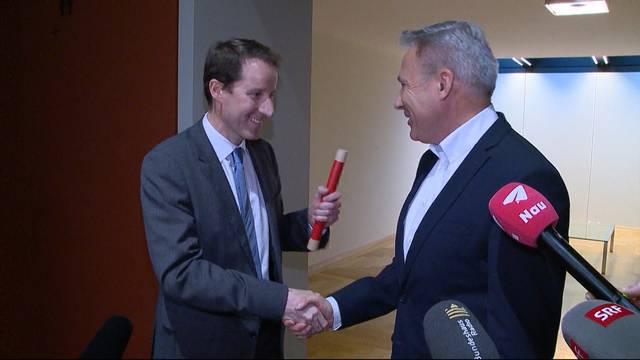Thomas Aeschi wird neuer SVP-Fraktionschef