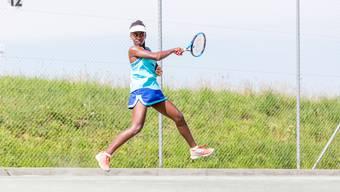Die Tennis-Nachwuchscracks machen Halt in Oberentfelden
