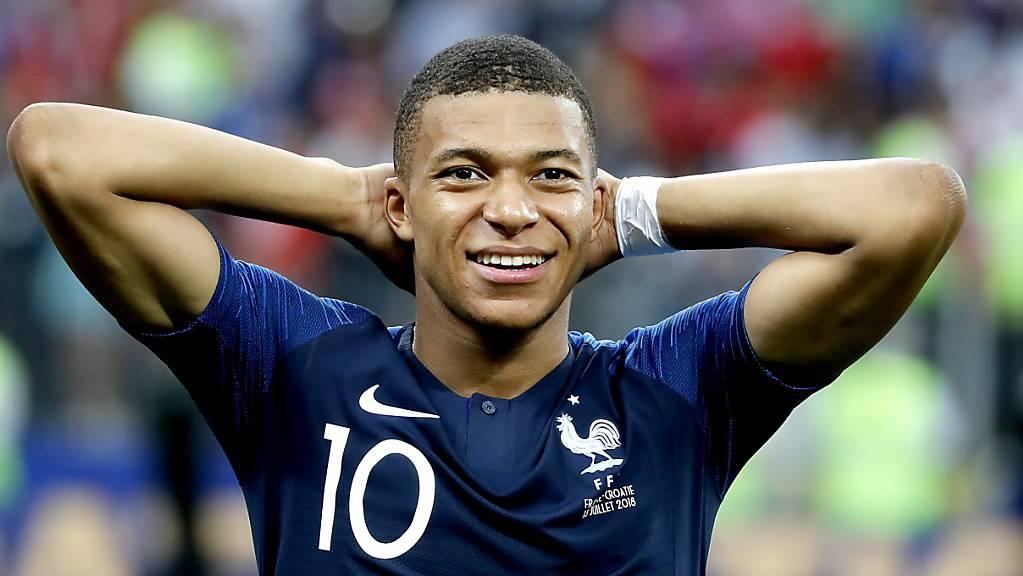 Der Weg des Titelverteidigers Frankreich (mit Stürmerstar Kylian Mbappé) zur WM 2022 scheint nicht allzu steinig
