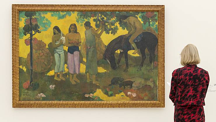 Ausstellung «Paul Gauguin» in der Fondation Beyeler.